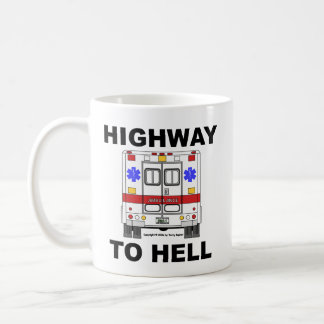 Highway to Hell Ambulance - Cup Classic White Coffee Mug