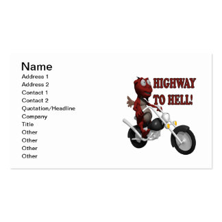 Highway To Hell Double-Sided Standard Business Cards (Pack Of 100)