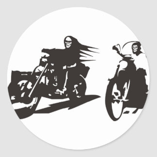 Highway to Hell Classic Round Sticker