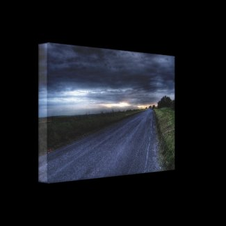 Highway To Hell Gallery Wrap Canvas