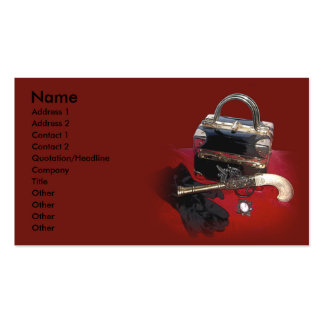 Highway Woman Profile Card Business Card