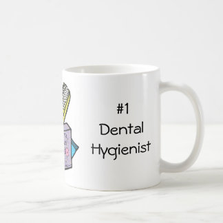 Higienista dental #1 taza clásica