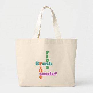 Higienista dental del dentista bolsa tela grande