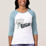 Higienista dental del dentista divertido camiseta