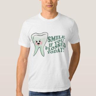 Higienista dental del dentista divertido polera