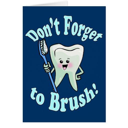 Higienista dental del dentista felicitacion