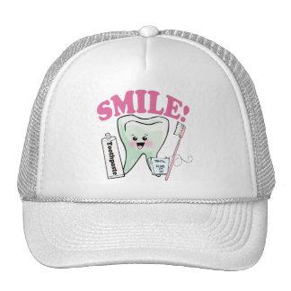 Higienista dental del dentista gorra
