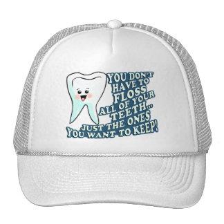 Higienista dental del dentista gorras de camionero
