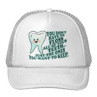 Higienista dental del dentista gorro