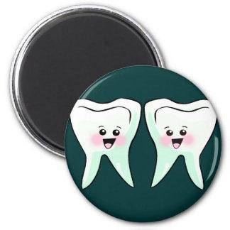 Higienista dental del dentista imán redondo 5 cm