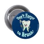 Higienista dental del dentista pin