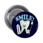 Higienista dental del dentista pins