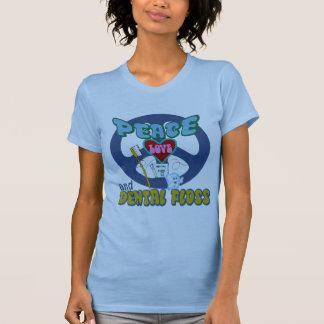 Higienista dental del dentista camisetas