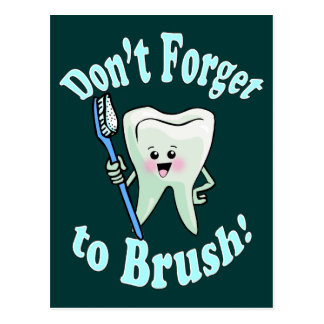 Higienista dental del dentista postales