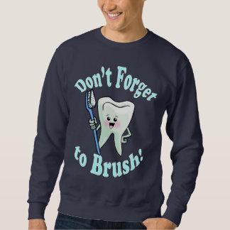 Higienista dental del dentista sudaderas encapuchadas