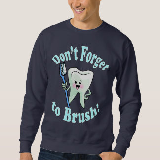 Higienista dental del dentista suéter