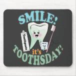 Higienista dental del dentista alfombrilla de ratones