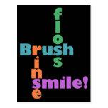 Higienista dental del dentista tarjeta postal