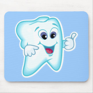 Higienista dental divertido tapete de raton