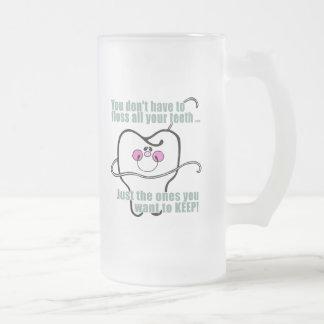 Higienista dental divertido taza de café