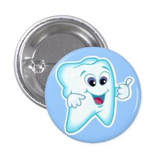 Higienista dental pin redondo de 1 pulgada