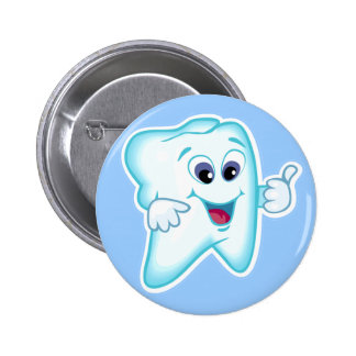 Higienista dental pin redondo de 2 pulgadas