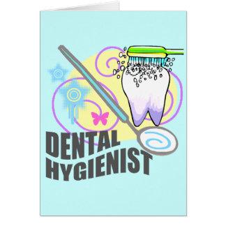 Higienista dental tarjeta