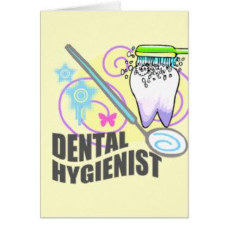 Higienista dental tarjeton
