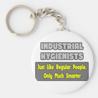 Higienistas industriales. Más elegante Llavero Redondo Tipo Pin