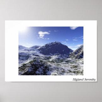 Higland Serenity Poster