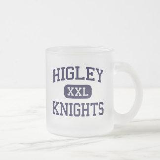 Higley - Knights - High School - Gilbert Arizona 10 Oz Frosted Glass Coffee Mug