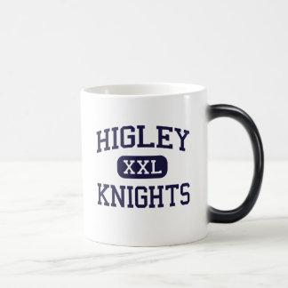 Higley - Knights - High School - Gilbert Arizona 11 Oz Magic Heat Color-Changing Coffee Mug