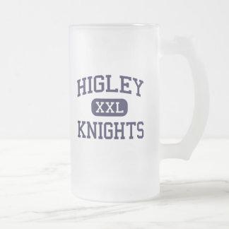 Higley - Knights - High School - Gilbert Arizona 16 Oz Frosted Glass Beer Mug
