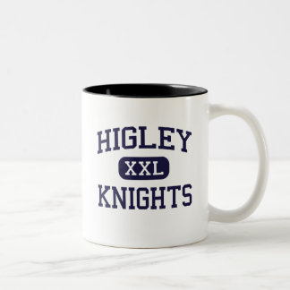 Higley - Knights - High School - Gilbert Arizona Two-Tone Coffee Mug