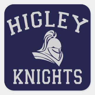 Higley Knights Square Sticker