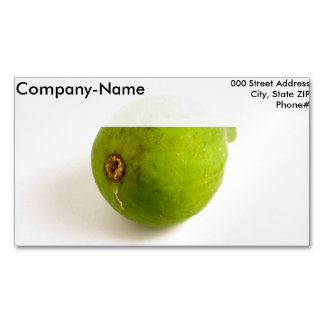 Higo verde tarjetas de visita magnéticas (paquete de 25)