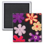 HiHo Flowers Fridge Magnet