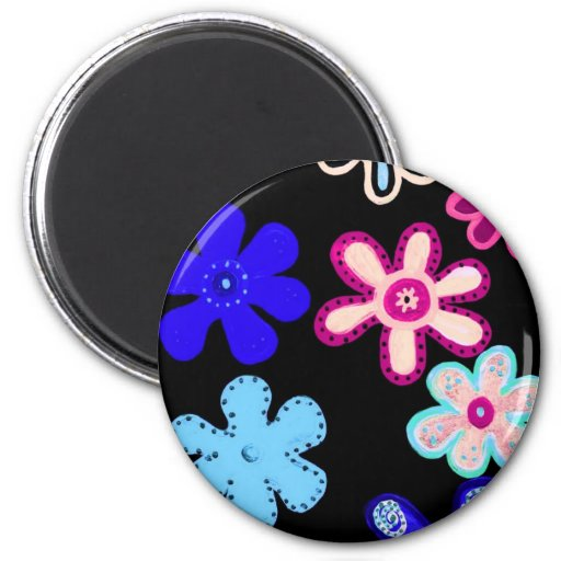 HiHo Flowers Magnets