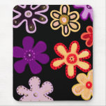 HiHo Flowers Mouse Pad