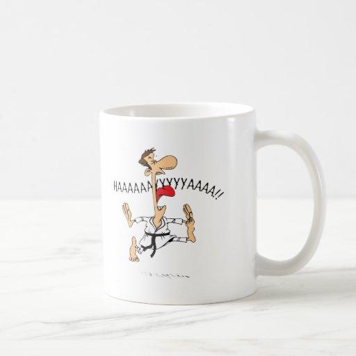 Hiiiiyaah Classic White Coffee Mug