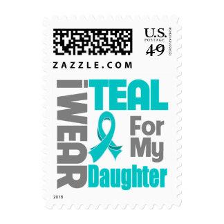 Hija - ayuda del cáncer ovárico de la cinta del sellos