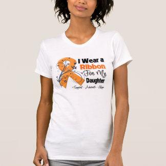 Hija - cinta de la leucemia camiseta