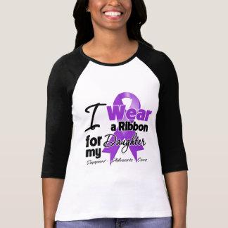 Hija - cinta del cáncer pancreático playera