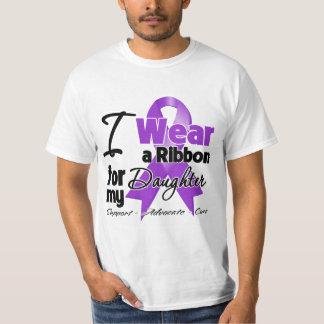 Hija - cinta del cáncer pancreático playeras