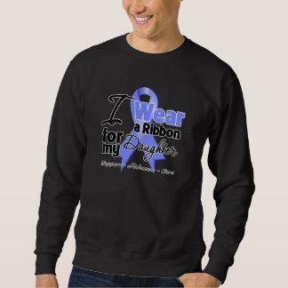 Hija - cinta del esófago del cáncer sudadera con capucha