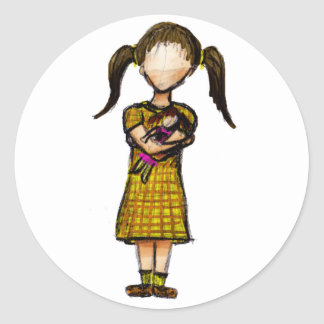 Hija Classic Round Sticker