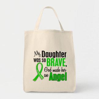 Hija de la distrofia muscular del ángel 1 bolsa tela para la compra