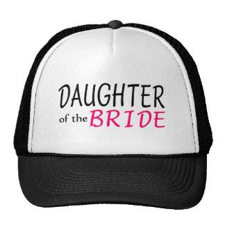 Hija de la novia gorras