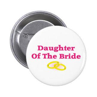 Hija de la novia pins