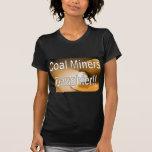 hija de los mineros de carbón camisetas